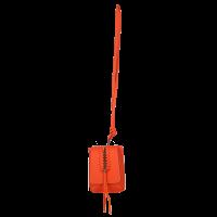 Mini geanta orange LEILA (necklace)