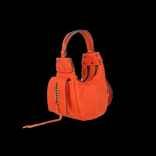 Geanta orange RENA din piele naturala model SHEILA RNL264.png